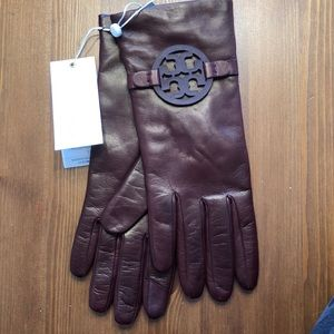 Tory Burch Leather Gloves